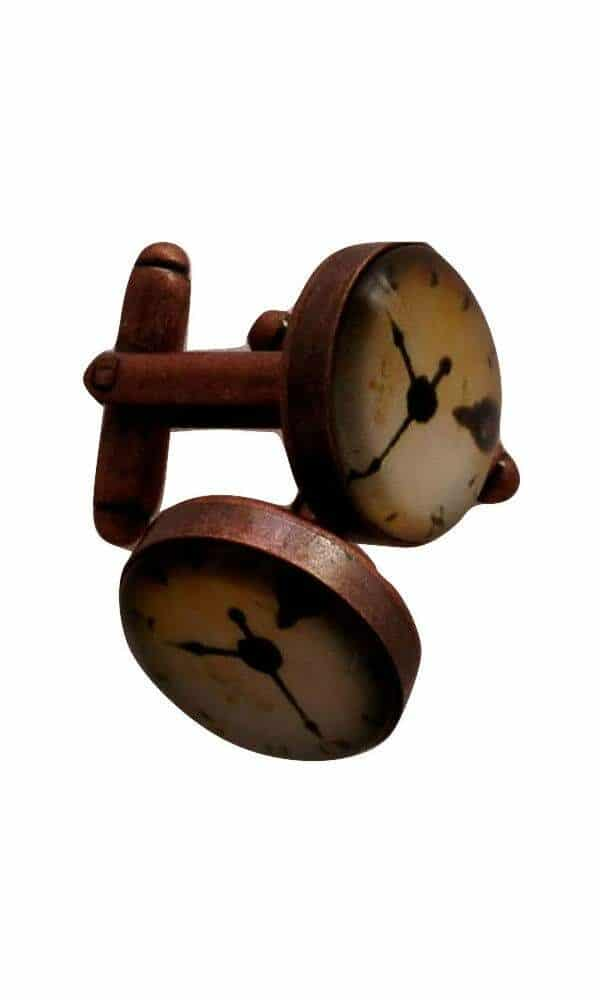 Cuff links clock design