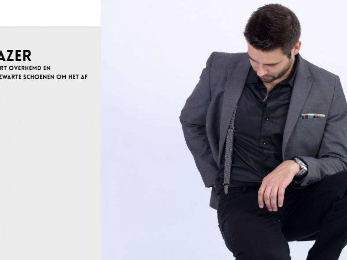 Heren looks met een blazer | Casual Smart look outfit ideeën