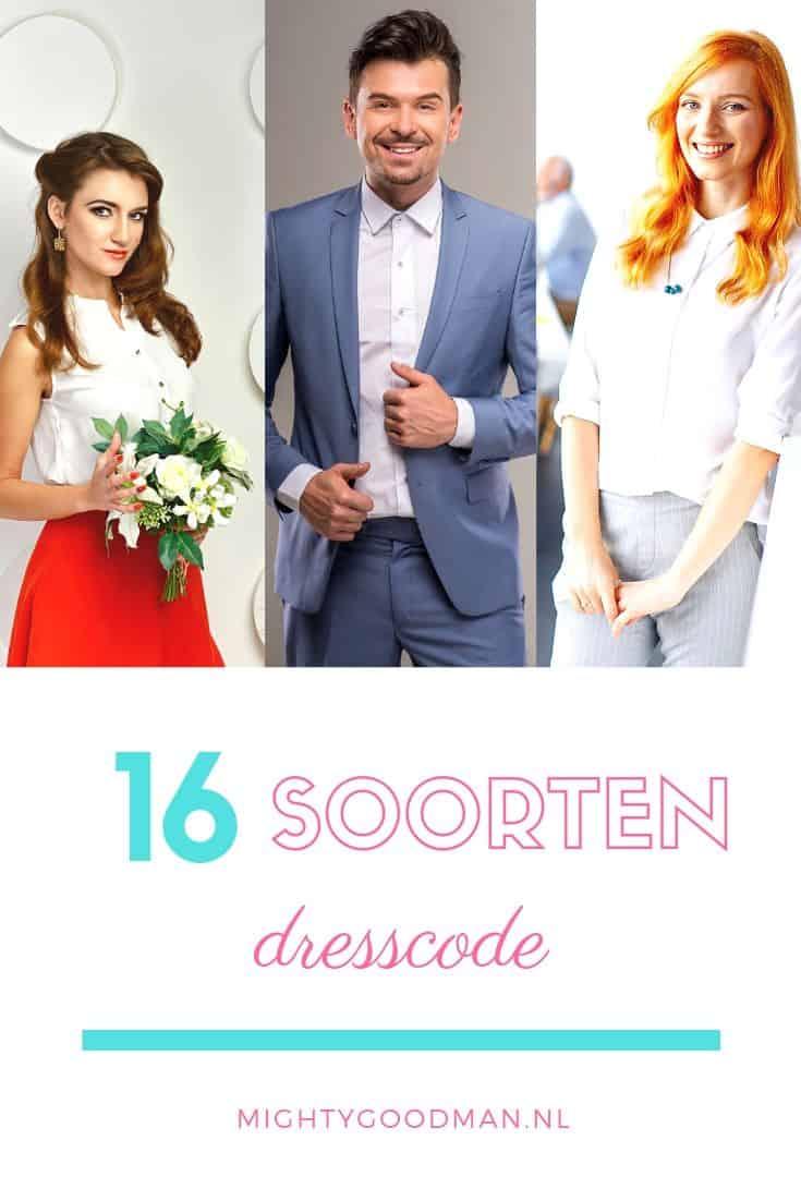 16 soorten dress code voor feest & werk | Cocktail tot Business