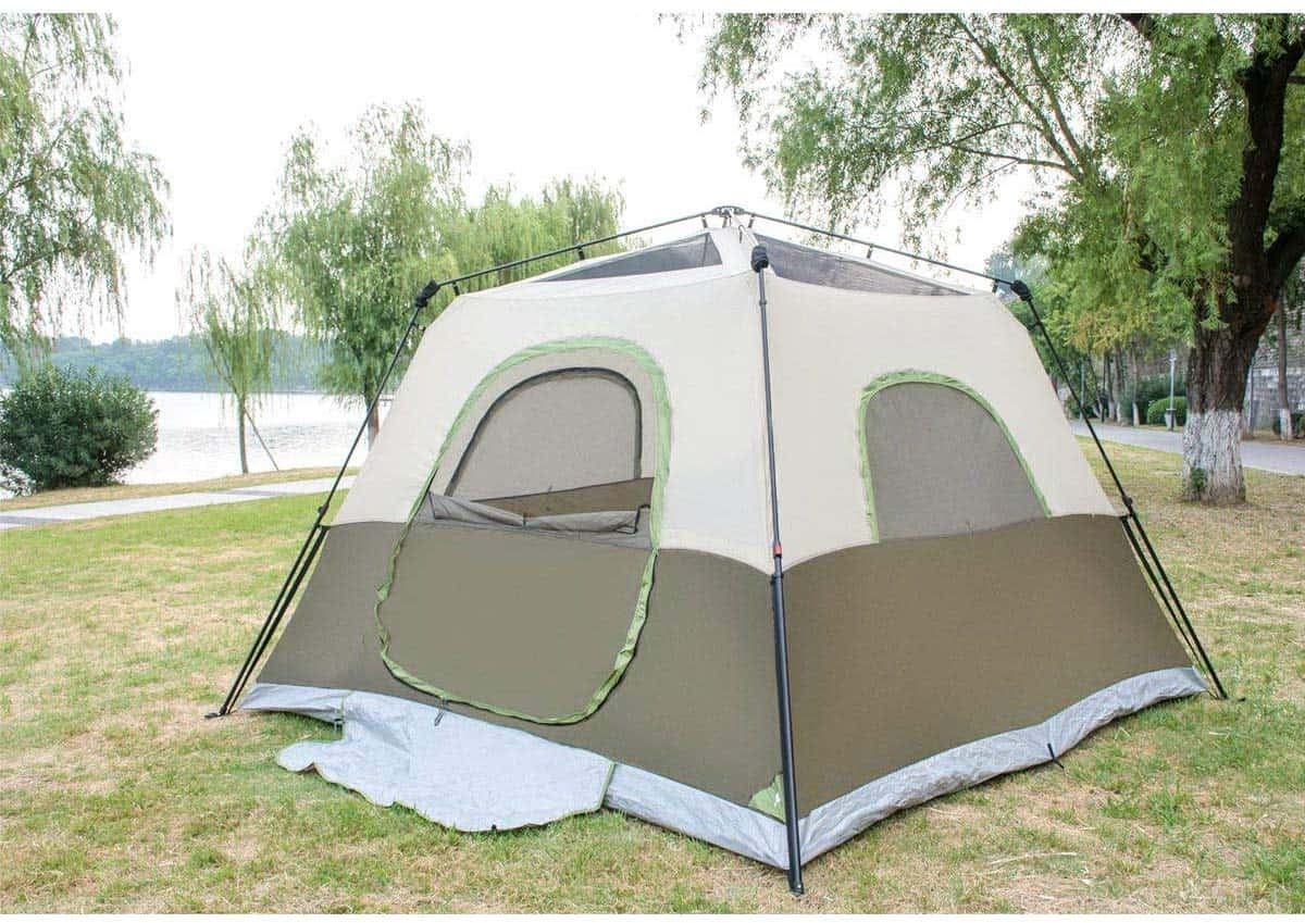 Beste 6 persoons pop up tent SongYanLiang