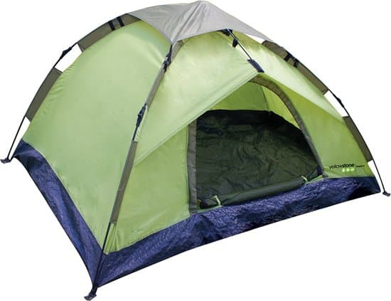 Beste goedkope pop up tent Yellowstone Rapid 4