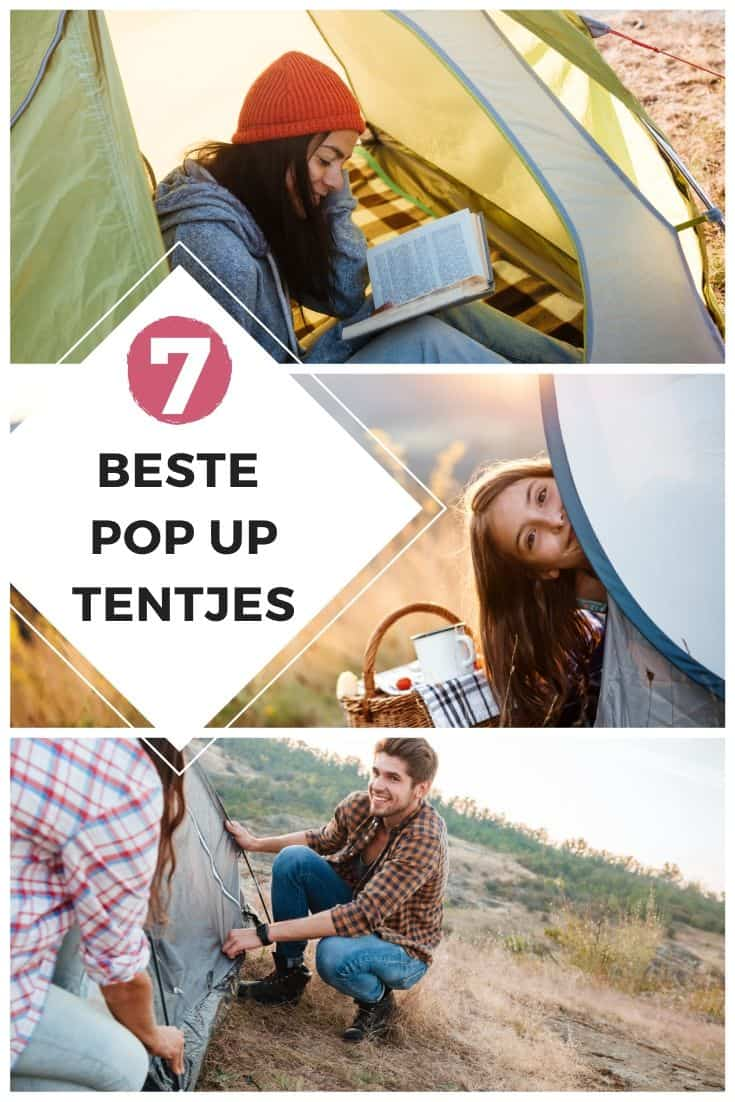 De 7 beste pop up tentjes