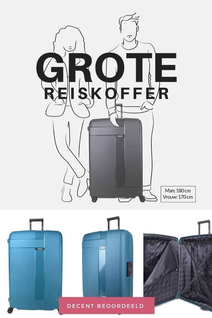 Beste grote reiskoffer Decent travel trolley