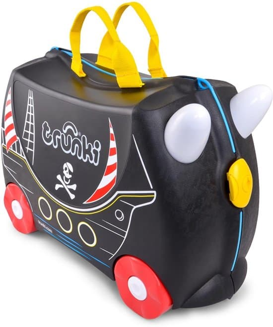 Beste reiskoffer voor kind Trunki Ride-On Kinderkoffer Piraat Pedro