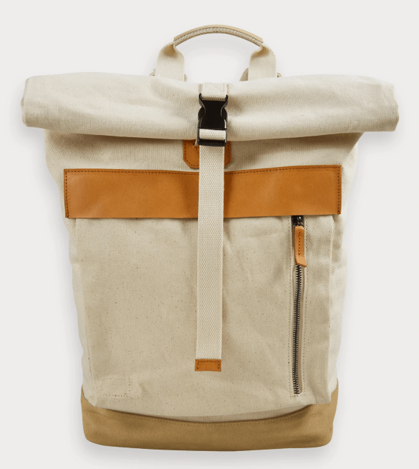 Scotch and soda canvas backpack
