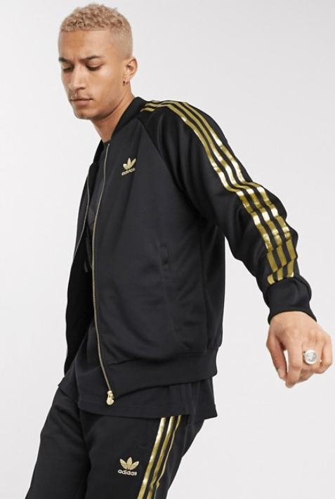 Zomerjas sportief: adidas Originals superstar 24K